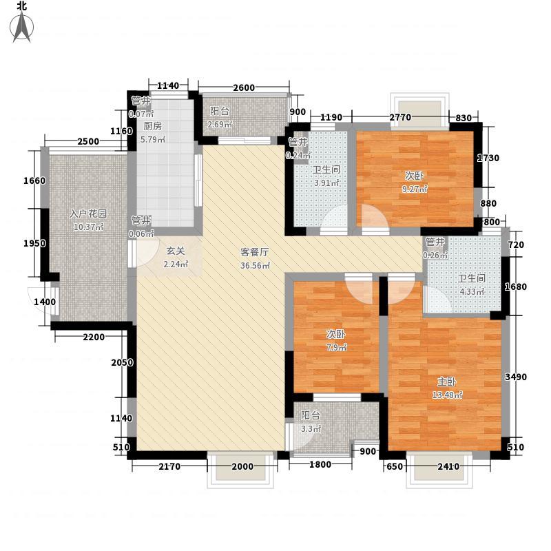 曙苑新村曙苑新村户型图2-13室2厅1卫1厨户型3室2厅1卫1厨