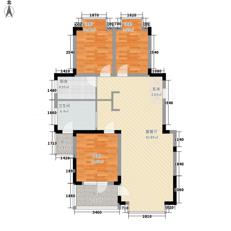 仙浴湾温泉海岸119.61㎡仙浴湾温泉海岸户型图3号楼C户型3室2厅1卫1厨户型3室2厅1卫1厨