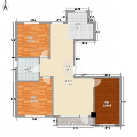 今都小区3室1厅1卫0厨112.00㎡户型图