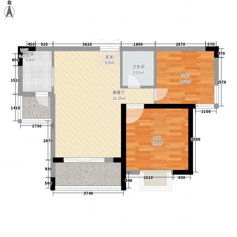 中宜大厦76.99㎡中宜大厦户型图2房户型图2室2厅1卫1厨户型2室2厅1卫1厨