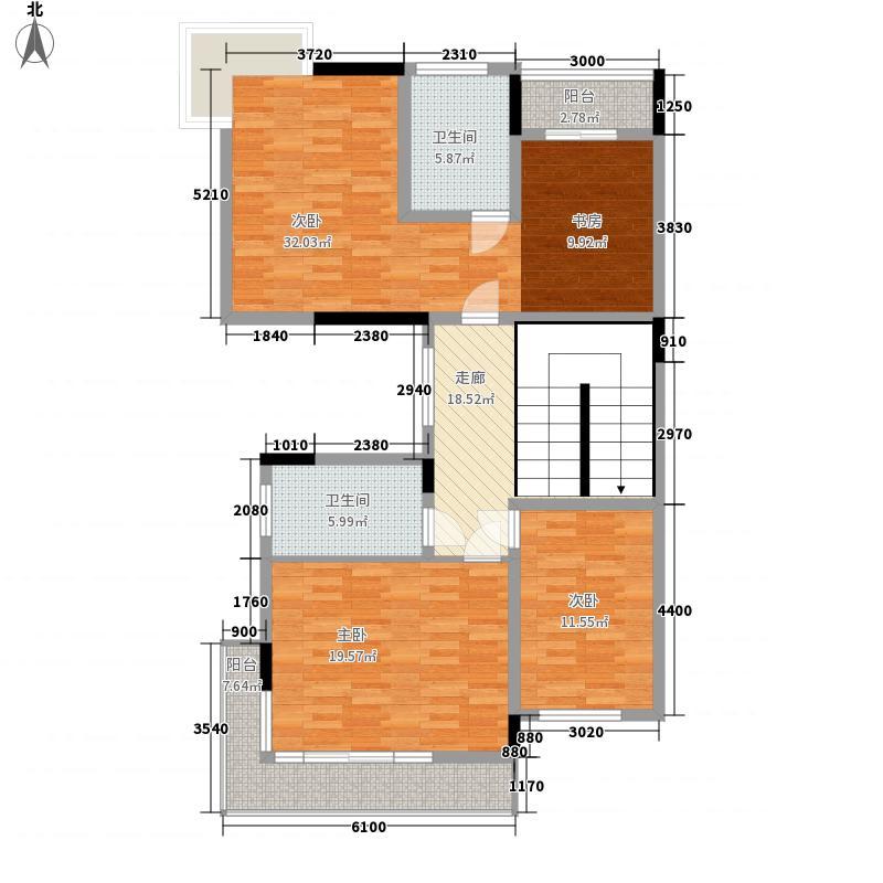百步亭花园丹枫苑3室0厅2卫0厨148.00㎡户型图