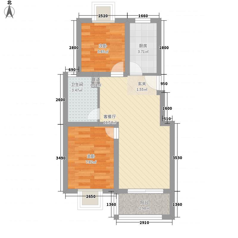 置煤浜60.00㎡置煤浜2室户型2室
