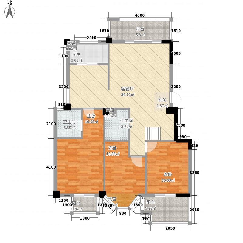 怡华园小区93.00㎡怡华园小区3室户型3室