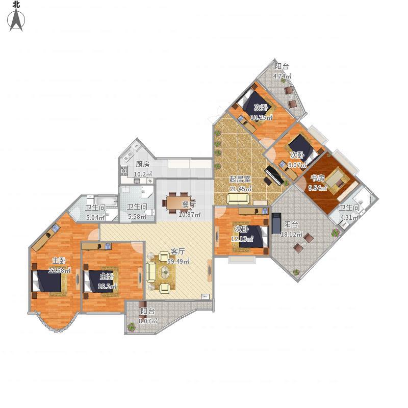 心家泊237平面图