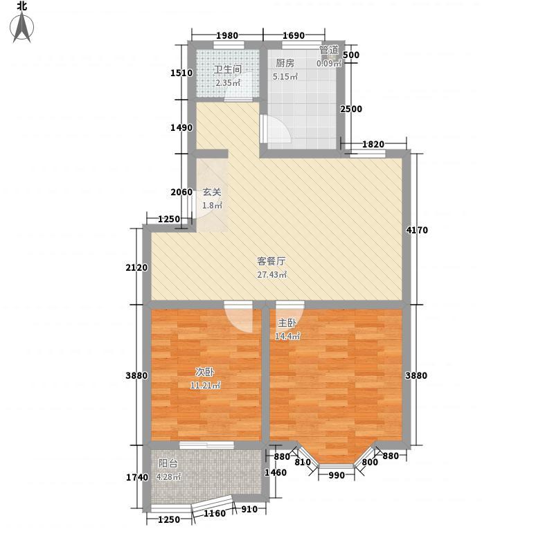 新天地国际广场新天地国际广场户型图6-12室2厅1卫1厨户型2室2厅1卫1厨