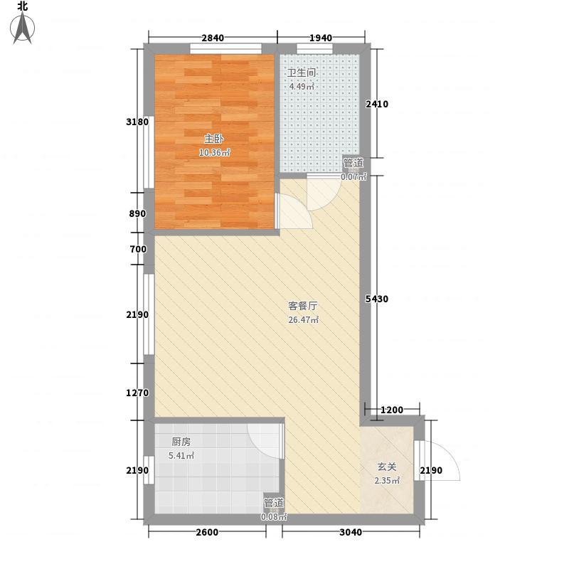 太原时代64.76㎡太原时代户型图户型图2室1厅1卫户型2室1厅1卫