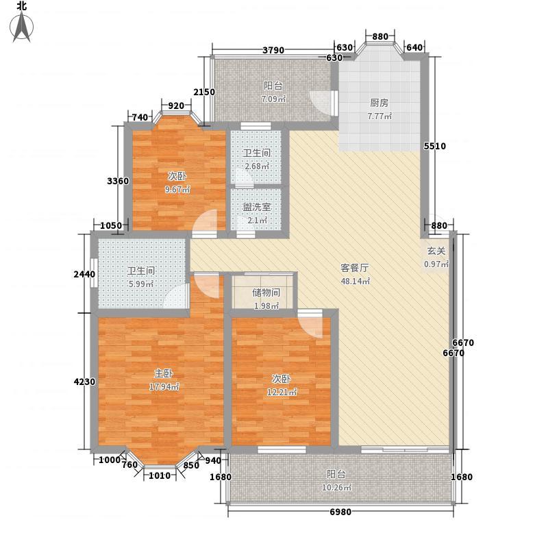 静怡家园95.51㎡静怡家园户型图19101060393室2厅2卫1厨户型3室2厅2卫1厨