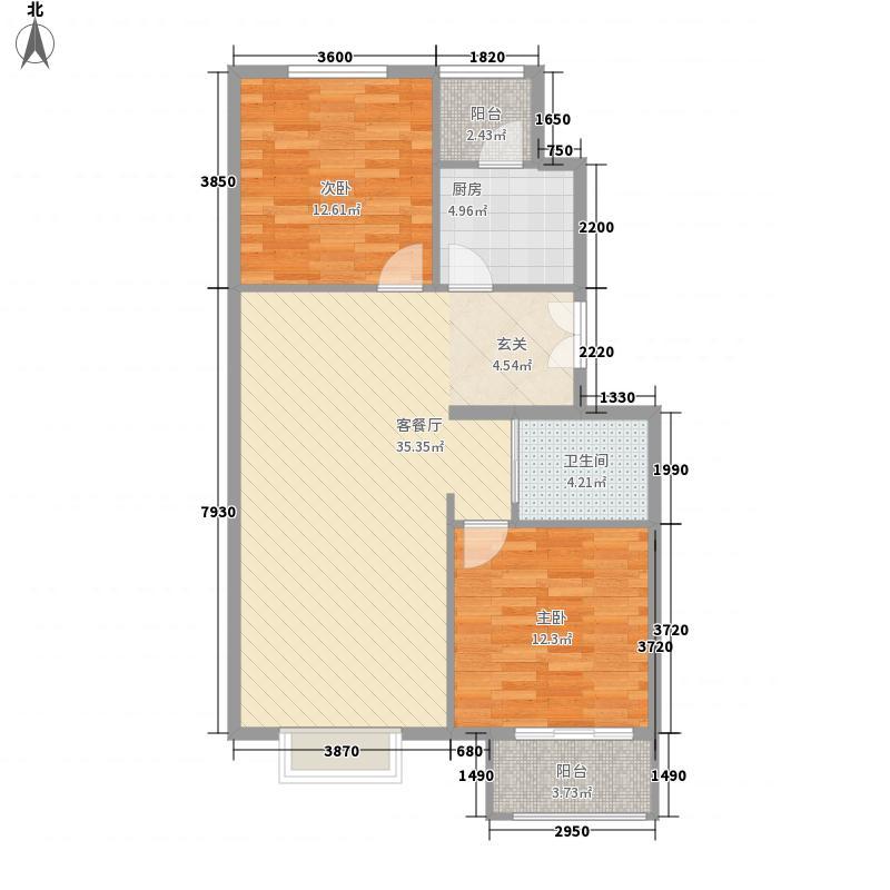 丽水莲花户型2室