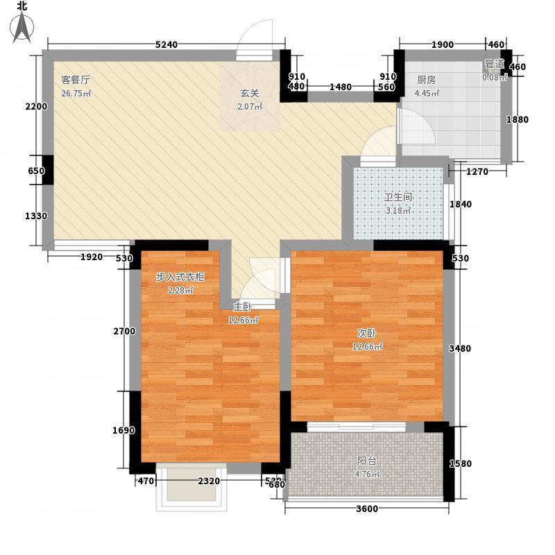 怡景花园82.60㎡怡景花园户型图H2户型2室2厅1卫1厨户型2室2厅1卫1厨