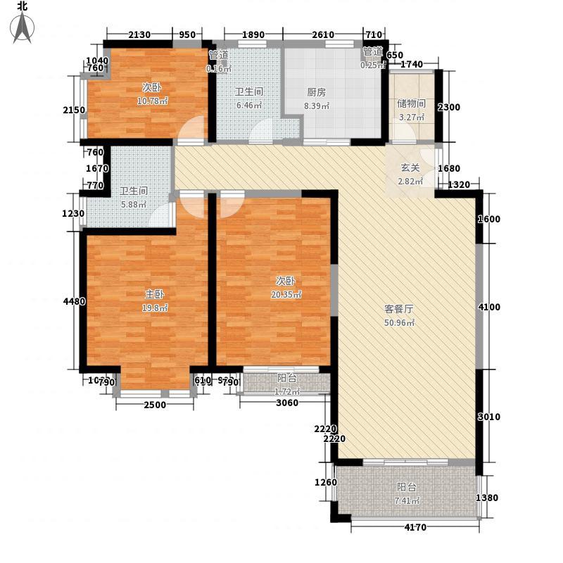 新世纪星城191.00㎡新世纪星城3室户型3室