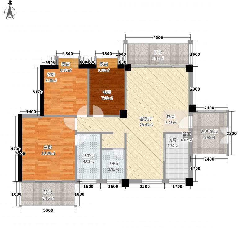 椰海雅苑103.76㎡椰海雅苑户型图B栋01户型户型10室