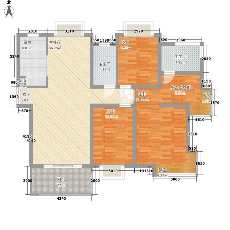 国贸天琴湾5号楼D户型