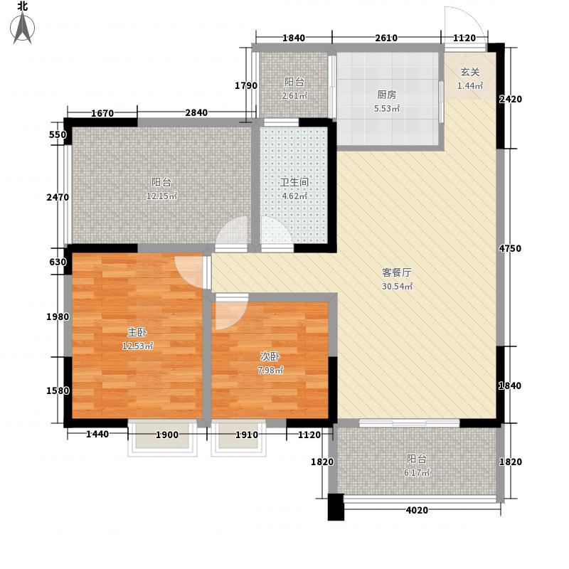 一新国际社区98.21㎡一新国际社区5号楼A户型2室2厅1卫1厨98.21㎡户型2室2厅1卫1厨