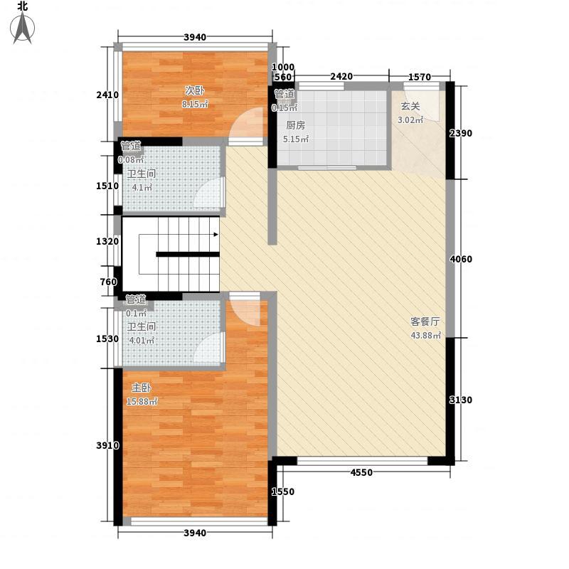 上善梧桐苑168.00㎡2栋A一楼户型5室2厅4卫1厨