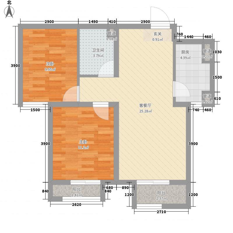 香城俪景二期1#、2#楼户型
