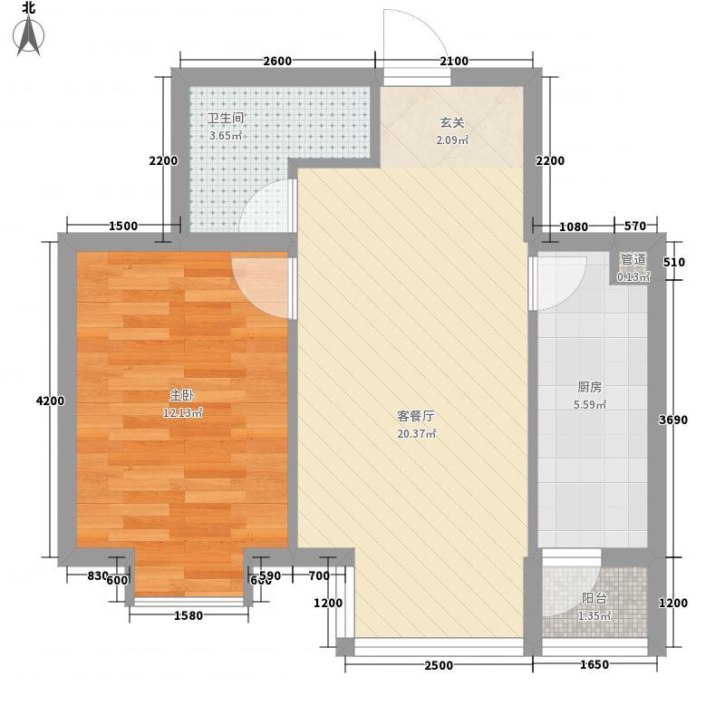 诚品6962户型1室1厅1卫
