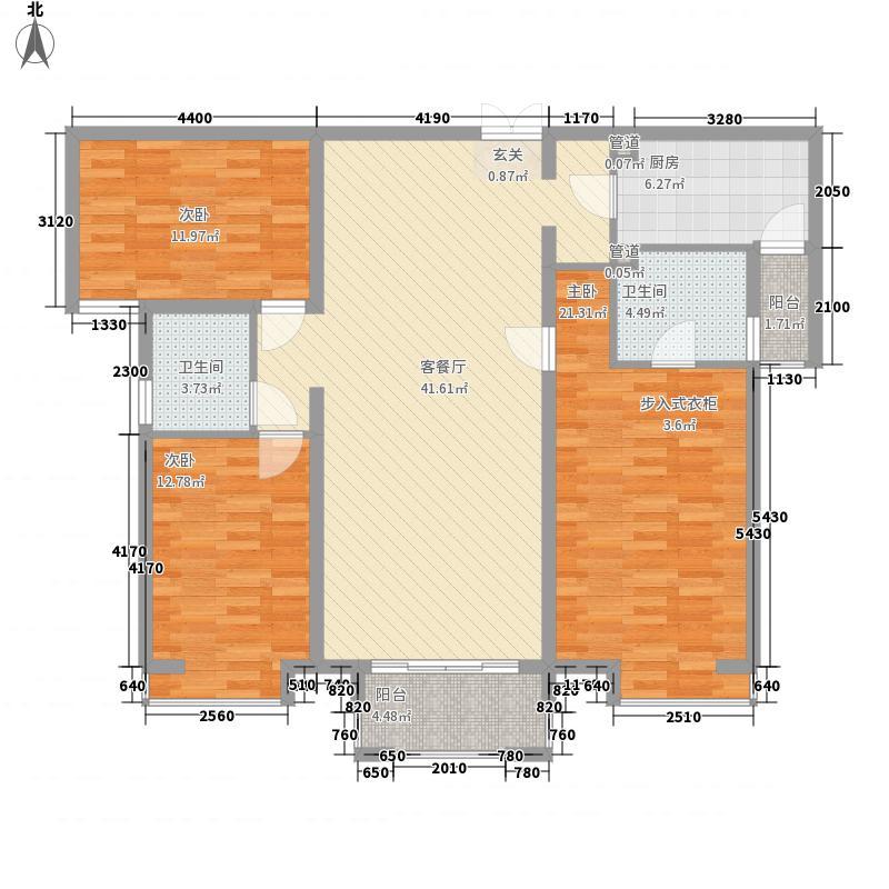 荣恒大厦一居室25户型1室1厅1卫1厨