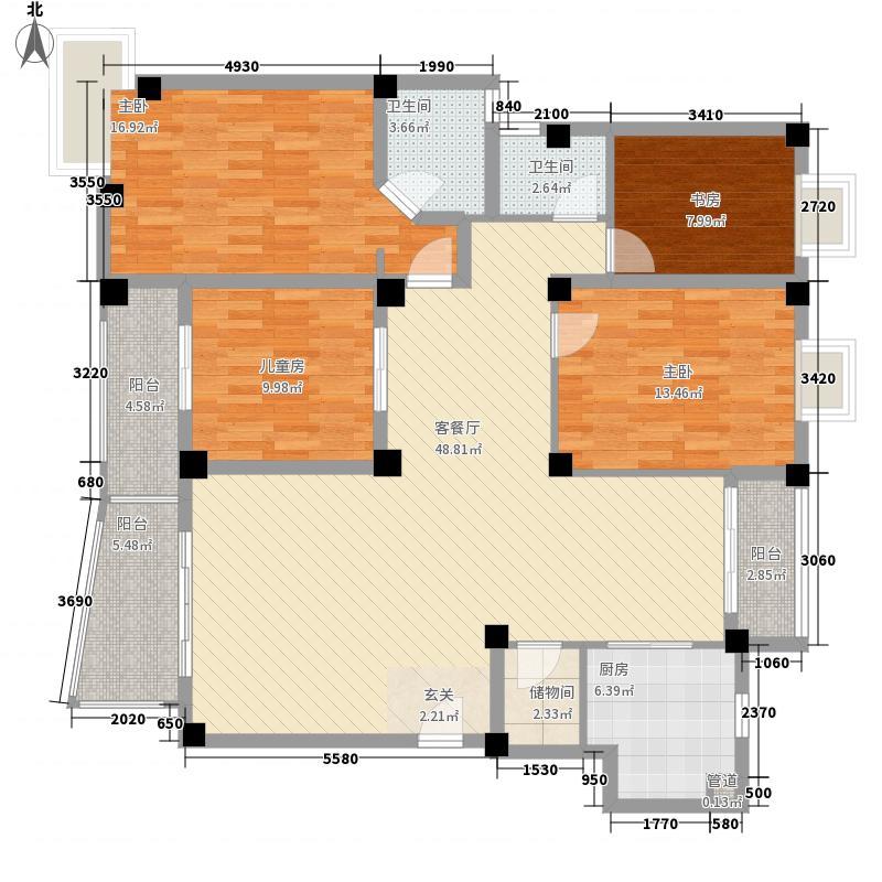 汇创名居179.00㎡汇创名居4户型10室