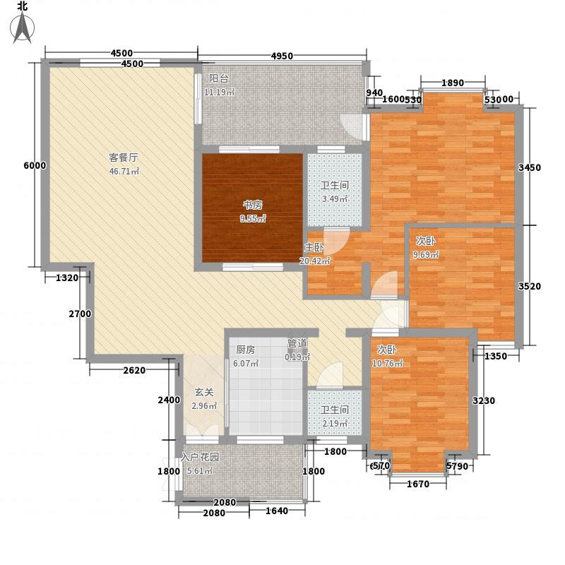 新添菜场小区户型图新添菜场-户型图2 4室2厅2卫1厨