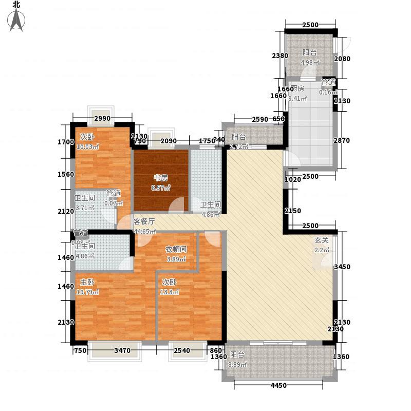 联泰・万泰城12.68㎡5栋和8栋A3-1户型4室2厅3卫1厨