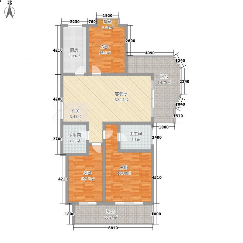 丰沃・龙湖郡169.40㎡丰沃・龙湖郡户型图E3室2厅2卫1厨户型3室2厅2卫1厨