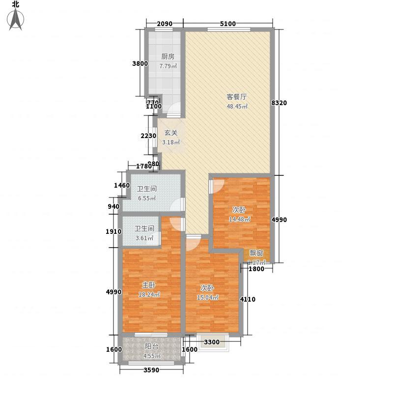 晋阳・峰�149.73㎡晋阳・峰�户型图B户型3室2厅2卫1厨户型3室2厅2卫1厨