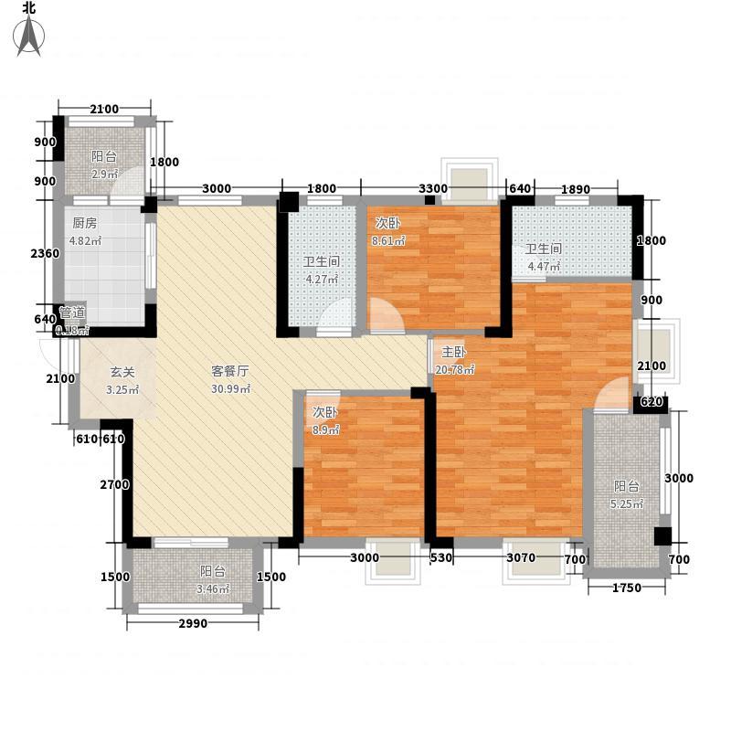清江山水33期69号楼3D户型