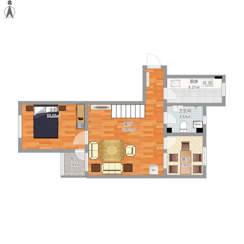 天津-千禧园25-2-603-设计方案