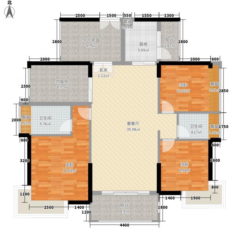 佳兆业中央豪门佳兆业中央豪门3室户型3室