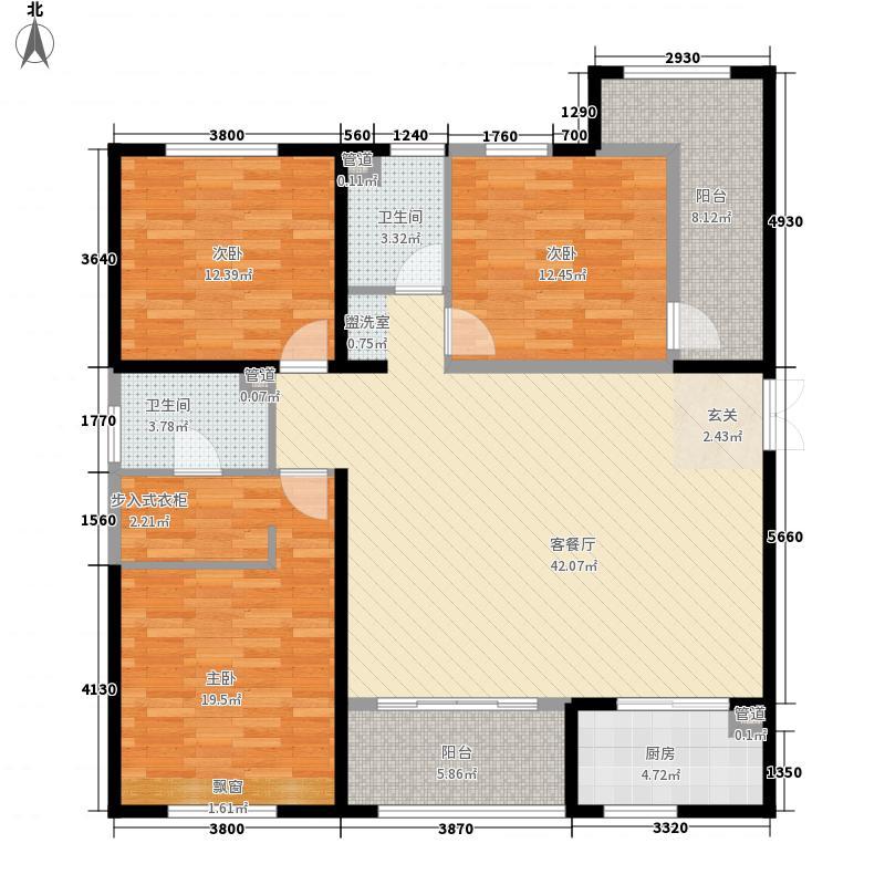 开元・第一城148.08㎡开元・第一城户型图8-1-01户型图3室2厅2卫1厨户型3室2厅2卫1厨