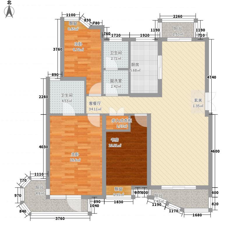 怡和公寓600x600户型2室2厅