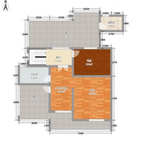 帝景传说山邸2室1厅1卫0厨213.00㎡户型图