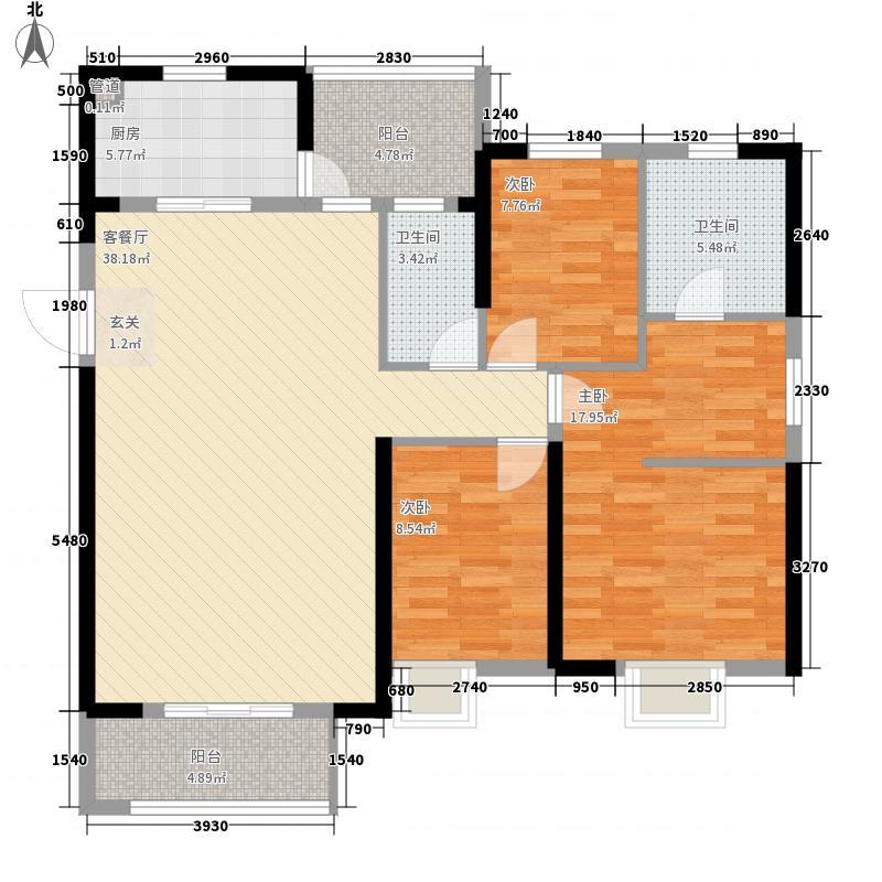 沿海国际中心2、4号楼A1户型
