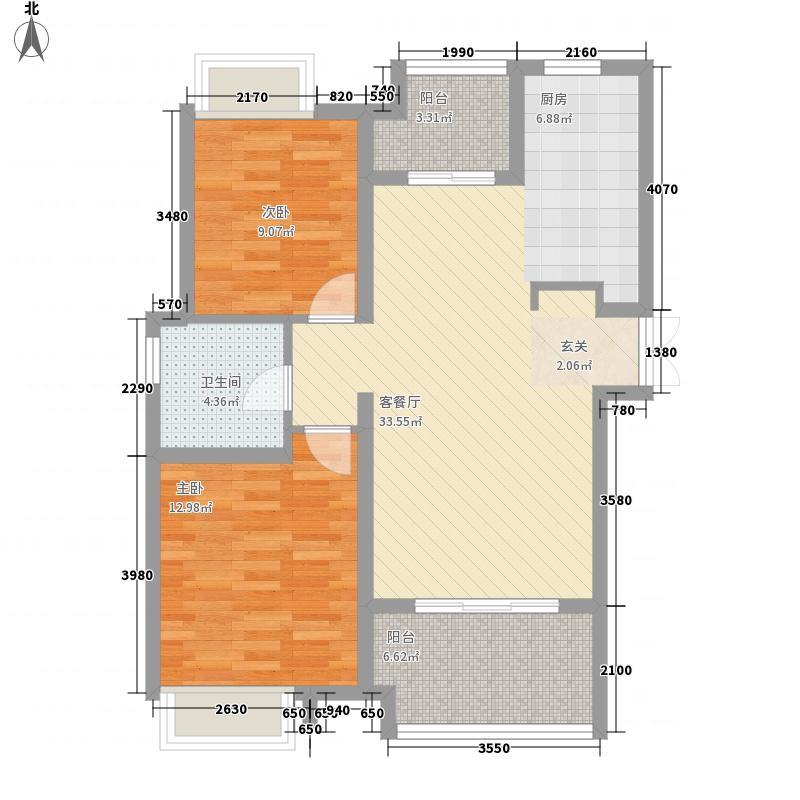 桑达园五期100.00㎡桑达园五期户型图3室户型图3室2厅1卫1厨户型3室2厅1卫1厨