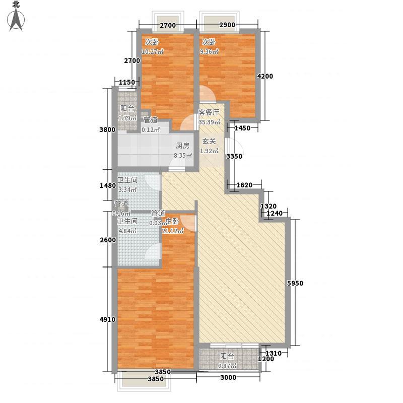 �园洋房标准层G户型