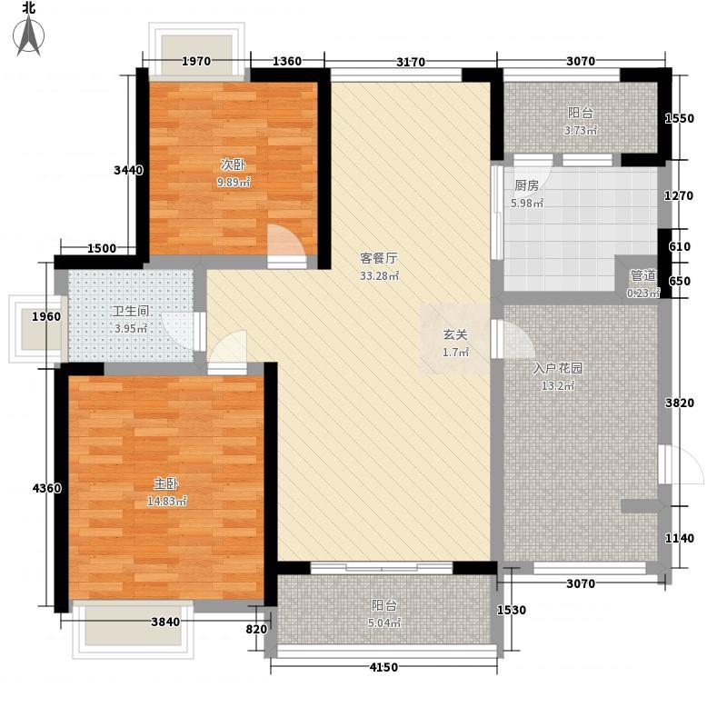 铂金公寓130.00㎡新天翔广场户型图户型图3室2厅2卫1厨户型3室2厅2卫1厨