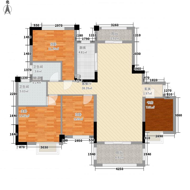 碧桂园・城市花园4号楼J562-A户型