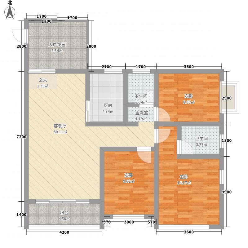 长江西路医药公司87.00㎡长江西路医药公司3室户型3室