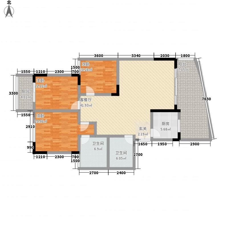 宏明大厦140.43㎡宏明大厦户型图E户型3室2厅2卫1厨户型3室2厅2卫1厨