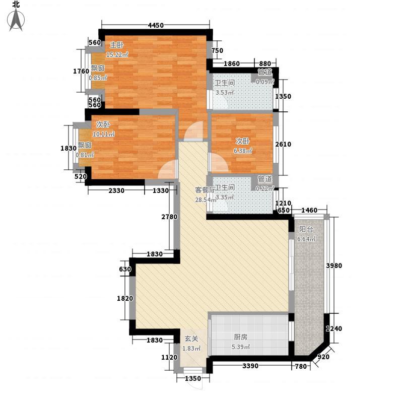 恒大世纪旅游城20号L2-C户型