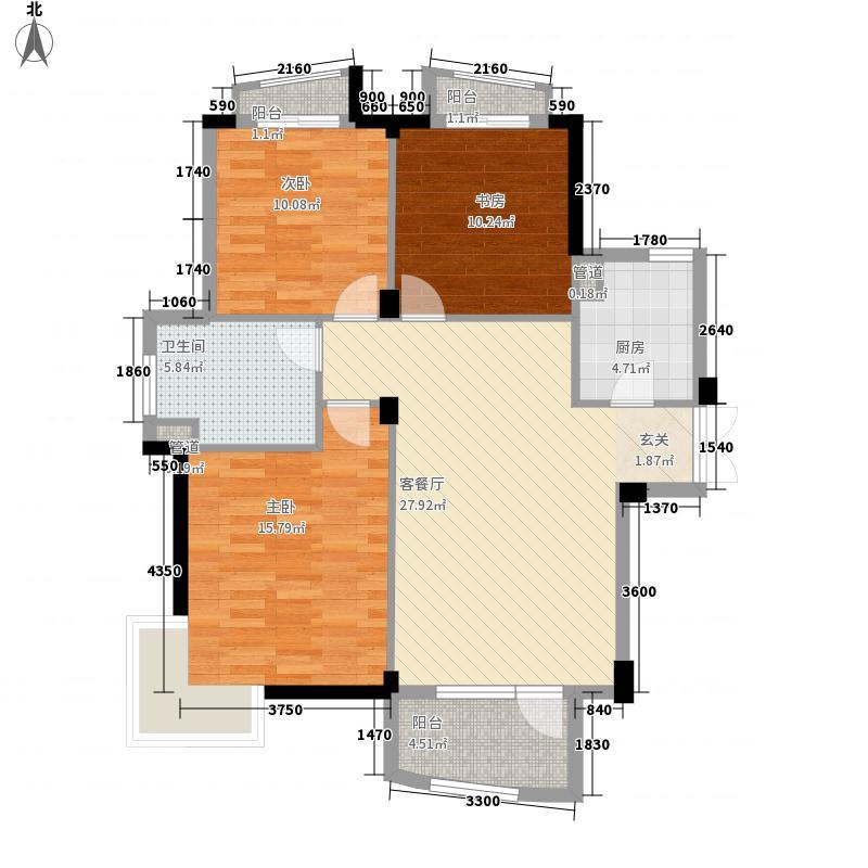 和煦园120.00㎡和煦园3室户型3室