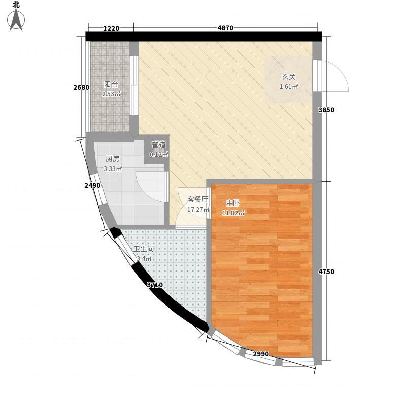 花明大厦56.48㎡花明大厦户型图A1-02户型2室1厅1卫1厨户型2室1厅1卫1厨