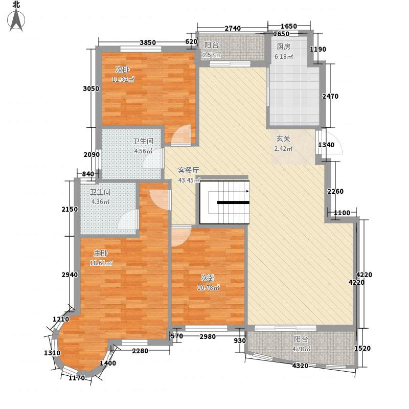 太平洋住皇别墅太平洋住皇别墅5室户型5室