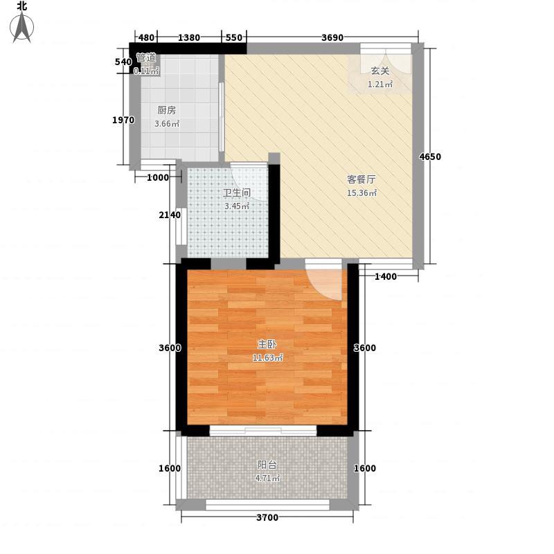 华悦公馆2#楼B4户型