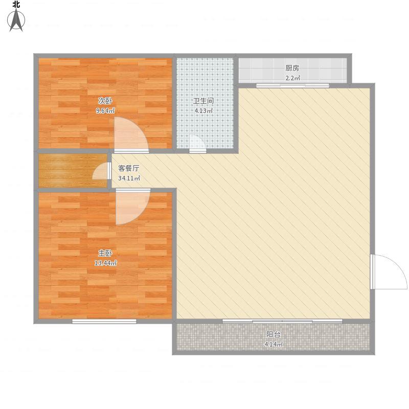 金鹤新城中房公寓-222-75