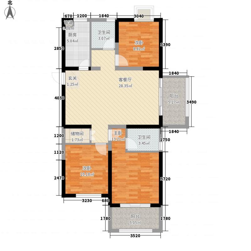 西城中央二期12#楼B户型