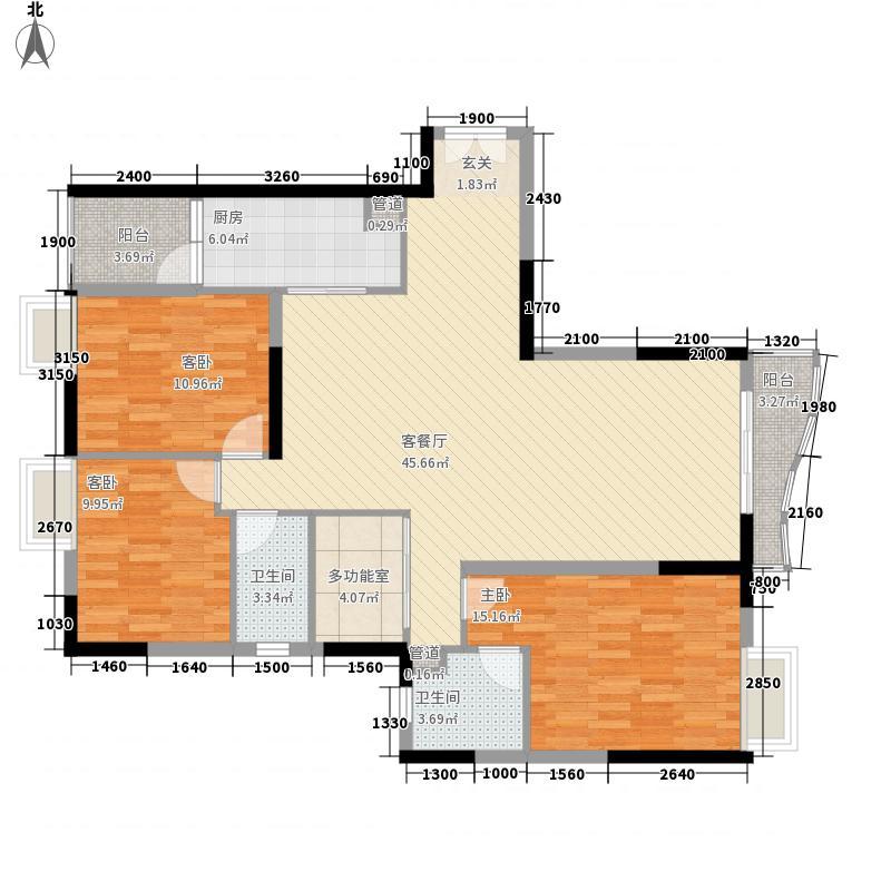 尚东美御142.88㎡尚东美御户型图4室2厅户型图4室2厅2卫1厨户型4室2厅2卫1厨