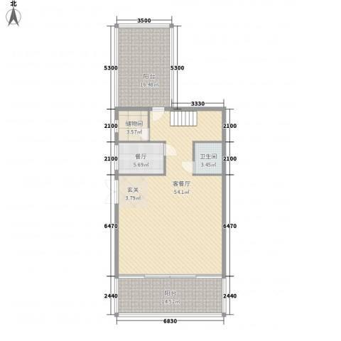 好景山庄2厅1卫0厨135.00㎡户型图