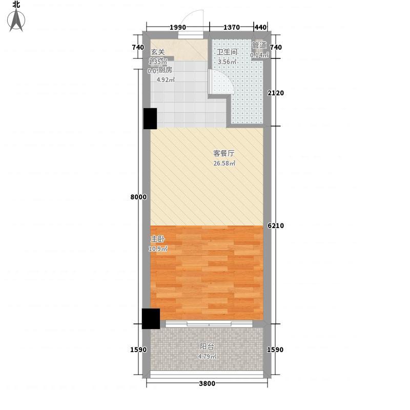 假日蓝湾假日蓝湾户型图酒店户型1室1厅1卫1厨户型1室1厅1卫1厨