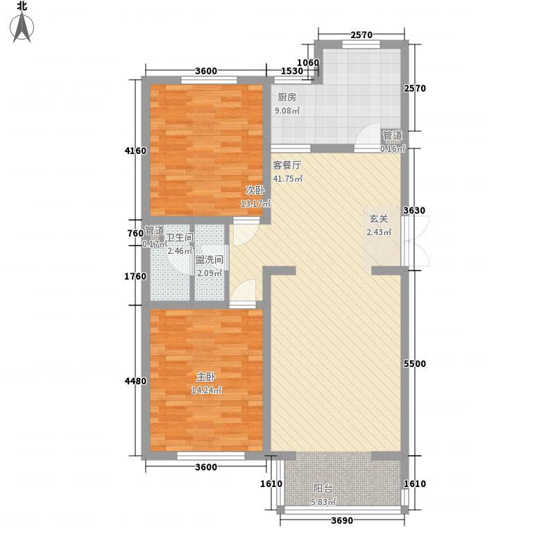 琅琊小区60.00㎡琅琊小区2室户型2室